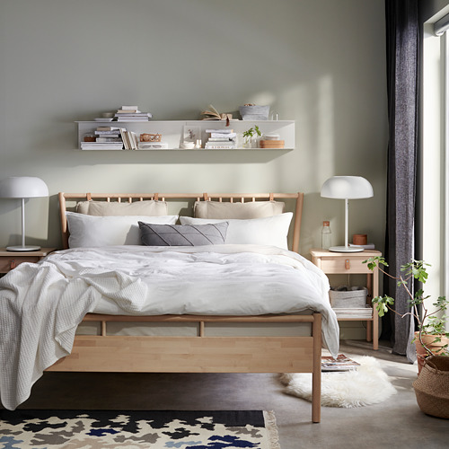 BJÖRKSNÄS - bed frame, birch | IKEA Hong Kong and Macau - PE741469_S4