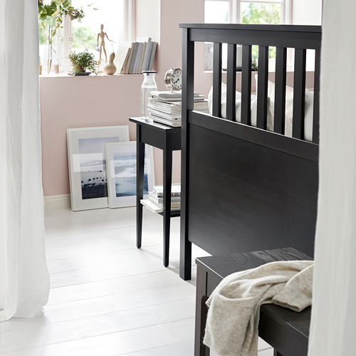 HEMNES - bed frame, black-brown | IKEA Hong Kong and Macau - PE741473_S4