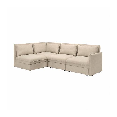 VALLENTUNA modular corner sofa, 3-seat
