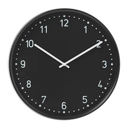 BONDIS - wall clock, black | IKEA Hong Kong and Macau - PE699035_S3
