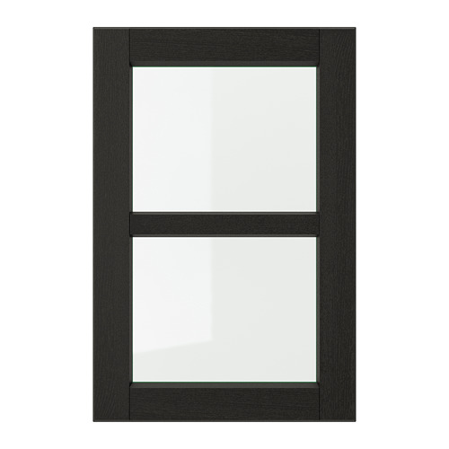 LERHYTTAN - 玻璃門, 染黑色   IKEA 香港及澳門 - PE699075_S4