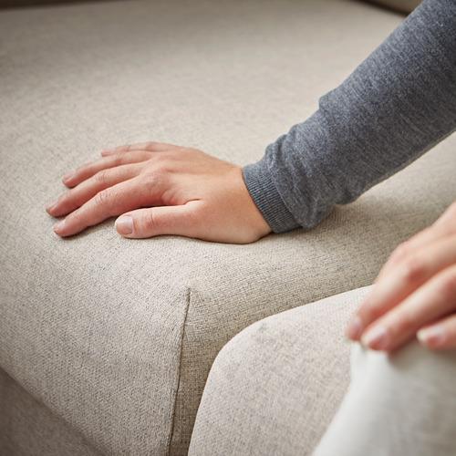 VIMLE - 3-seat sofa-bed with chaise longue, Gunnared beige | IKEA Hong Kong and Macau - PE794219_S4