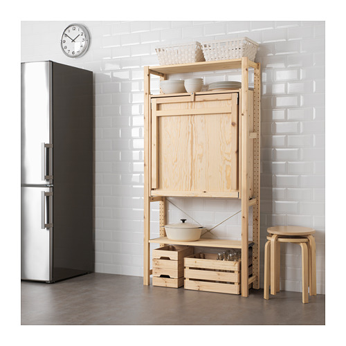 IVAR - 1 sec/storage unit w foldable table, 90x104x179 cm | IKEA Hong Kong and Macau - PE652160_S4