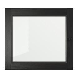 OXBERG - 玻璃門, 棕黑色 | IKEA 香港及澳門 - PE699205_S3