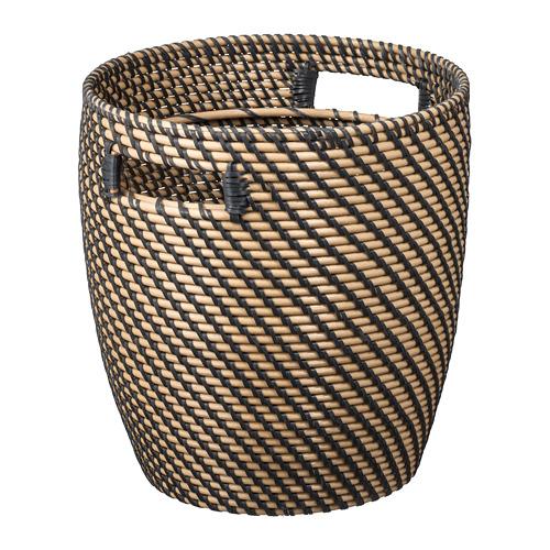 RÅGKORN - plant pot, in/outdoor natural | IKEA Hong Kong and Macau - PE699213_S4