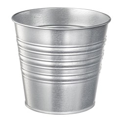 SOCKER - plant pot, in/outdoor/galvanised | IKEA Hong Kong and Macau - PE699214_S3