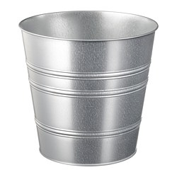 SOCKER - plant pot, in/outdoor/galvanised | IKEA Hong Kong and Macau - PE699219_S3