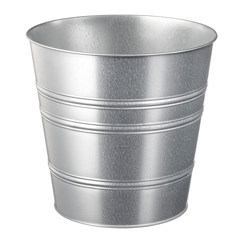 SOCKER - plant pot, in/outdoor/galvanised | IKEA Hong Kong and Macau - PE699219_S4