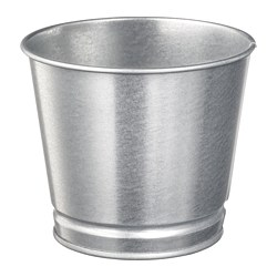 BINTJE - plant pot, galvanised | IKEA Hong Kong and Macau - PE699222_S3
