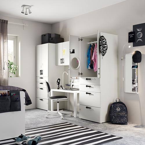 PLATSA/SMÅSTAD - storage combination, white/white | IKEA Hong Kong and Macau - PE794290_S4