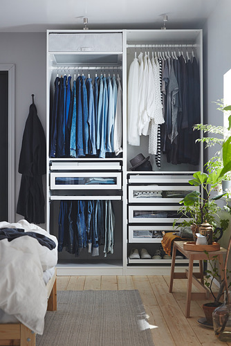 PAX - 衣櫃組合, 白色 | IKEA 香港及澳門 - PH173182_S4