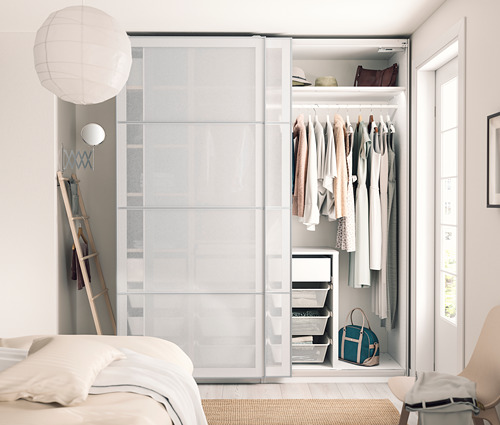 PAX - 3 wardrobe frames, white   IKEA Hong Kong and Macau - PH170939_S4