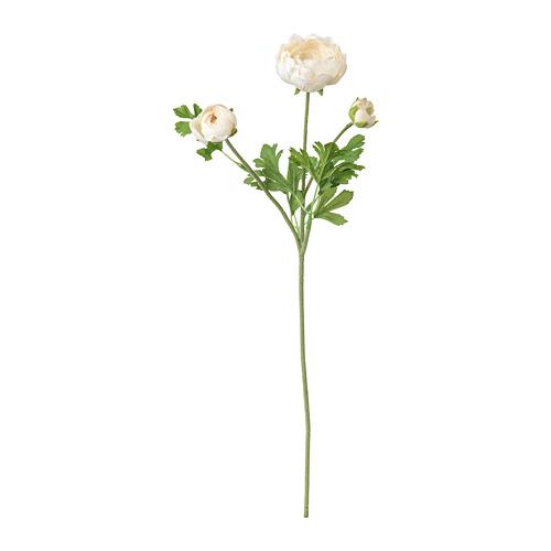 SMYCKA - 人造花, 毛莨/白色 | IKEA 香港及澳門 - PE699253_S4