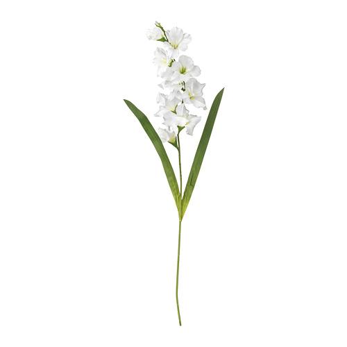 SMYCKA - 人造花, 劍蘭/白色 | IKEA 香港及澳門 - PE699254_S4