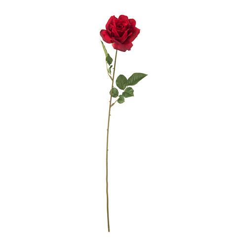 SMYCKA - 人造花, 玫瑰/紅色   IKEA 香港及澳門 - PE699259_S4
