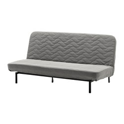 NYHAMN - 3-seat sofa-bed, with foam mattress/Knisa grey/beige | IKEA Hong Kong and Macau - PE652361_S3