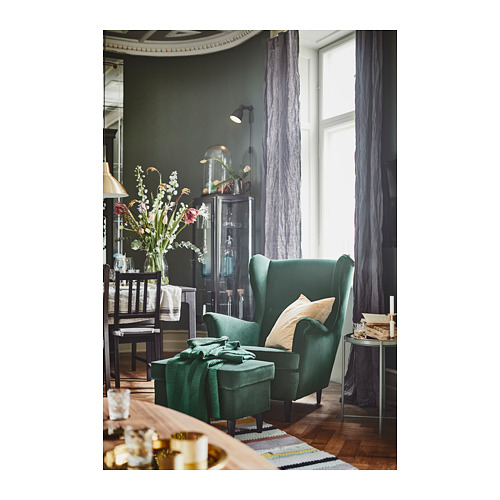 STRANDMON - wing chair, Djuparp dark green | IKEA Hong Kong and Macau - PH152847_S4