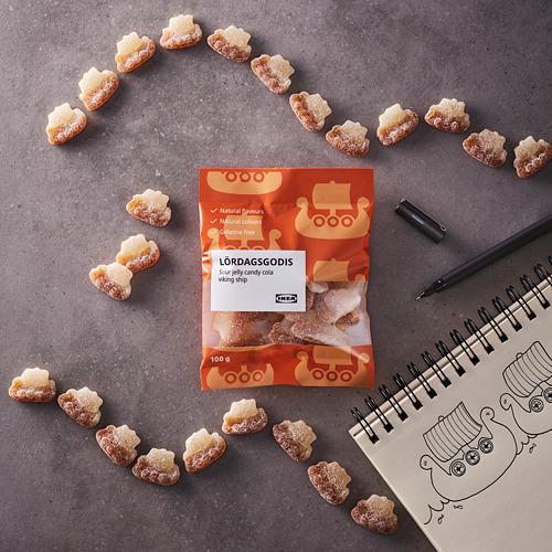 LÖRDAGSGODIS - 酸味啫喱軟糖, 可樂味 | IKEA 香港及澳門 - PE794415_S4