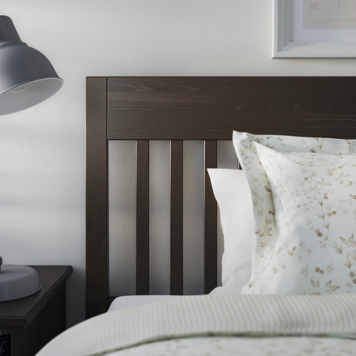 IDANÄS - bed frame, double, dark brown/Lönset | IKEA Hong Kong and Macau - PE794435_S4