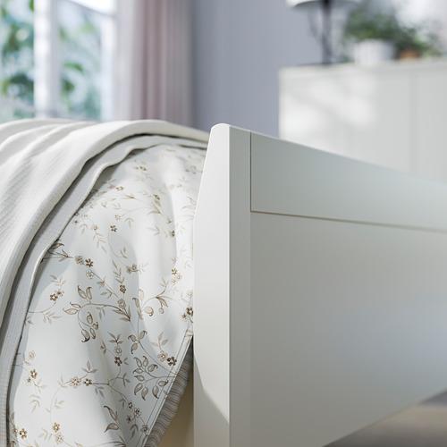 IDANÄS - bed frame, double, white/Luröy | IKEA Hong Kong and Macau - PE794438_S4