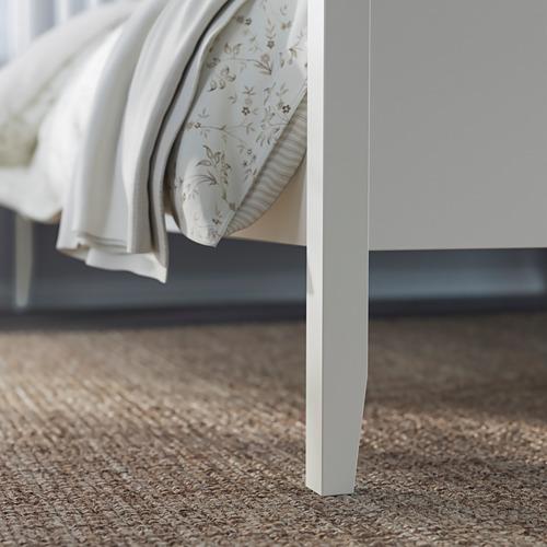 IDANÄS - bed frame, double, white/Luröy | IKEA Hong Kong and Macau - PE794437_S4