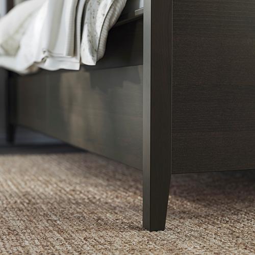 IDANÄS - 特大雙人床架連抽屜, 深褐色/Luröy | IKEA 香港及澳門 - PE794444_S4