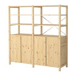 IVAR - 2 sections/shelves/cabinet, 174x50x179 cm, pine | IKEA Hong Kong and Macau - PE298968_S3