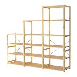 IVAR - 貯物組合, 259x50x226 cm, 松木 | IKEA 香港及澳門 - PE298984_S3