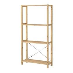 IVAR - 1 section/shelves, 89x30x179 cm, pine | IKEA Hong Kong and Macau - PE299067_S3