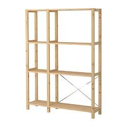 IVAR - 2 sections/shelves, 134x30x179 cm, pine | IKEA Hong Kong and Macau - PE299069_S3