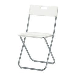 GUNDE - folding chair, white | IKEA Hong Kong and Macau - PE378635_S3