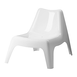 IKEA PS VÅGÖ - easy chair, outdoor, white | IKEA Hong Kong and Macau - PE270961_S3