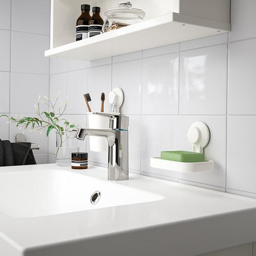 TISKEN - 肥皂碟連吸盤, 白色 | IKEA 香港及澳門 - PE741766_S4