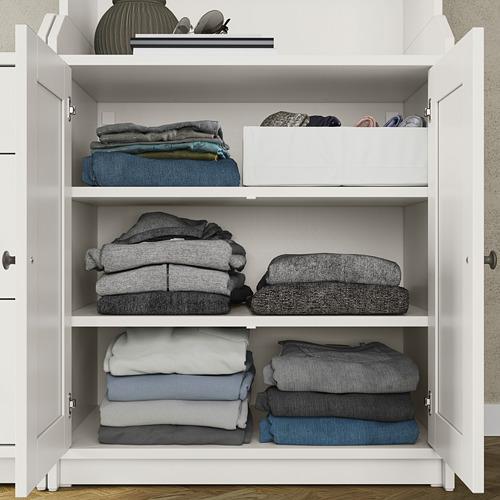 HAUGA - storage combination, white | IKEA Hong Kong and Macau - PE794564_S4