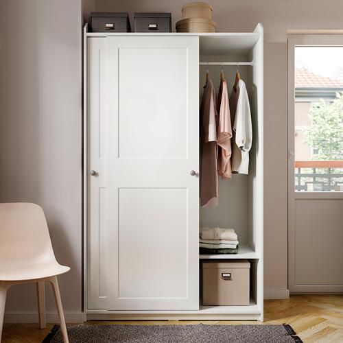 HAUGA - 衣櫃組合, 白色 | IKEA 香港及澳門 - PE794580_S4
