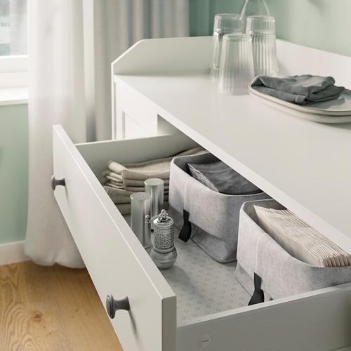HAUGA - 餐具櫃, 白色   IKEA 香港及澳門 - PE794591_S4