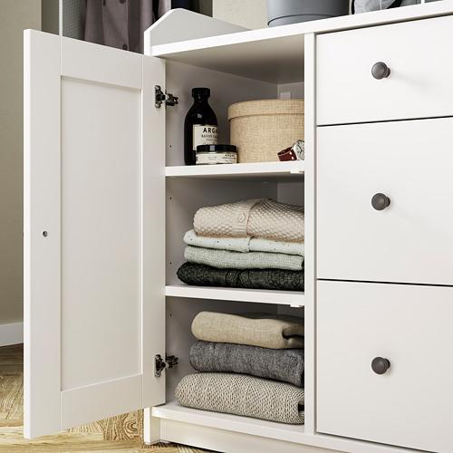 HAUGA - 餐具櫃, 白色   IKEA 香港及澳門 - PE794592_S4