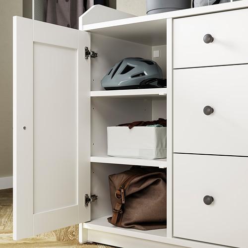 HAUGA - 餐具櫃, 白色   IKEA 香港及澳門 - PE794594_S4