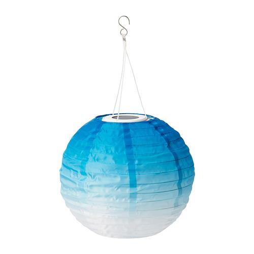 SOLVINDEN - 太陽能LED吊燈, 戶外/球形 藍調 | IKEA 香港及澳門 - PE794608_S4