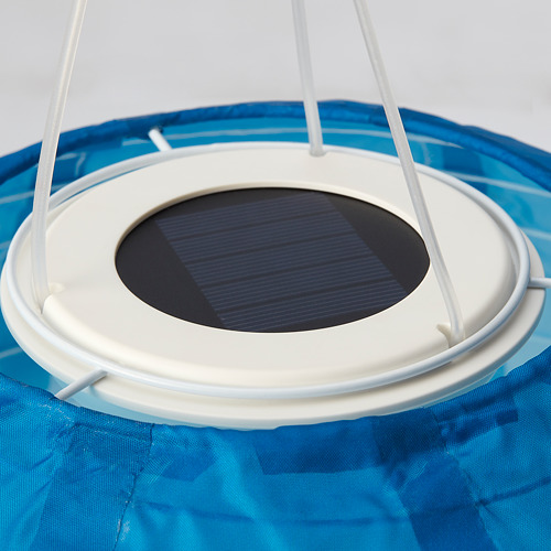 SOLVINDEN - 太陽能LED吊燈, 戶外/球形 藍調 | IKEA 香港及澳門 - PE794609_S4