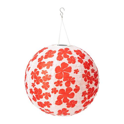 SOLVINDEN - 太陽能LED吊燈, 戶外 球形/花 | IKEA 香港及澳門 - PE794612_S4