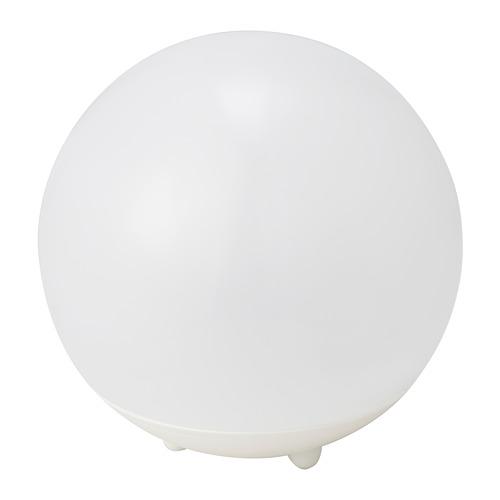 SOLVINDEN - 太陽能LED裝飾燈, 戶外/球形 白色 | IKEA 香港及澳門 - PE794620_S4