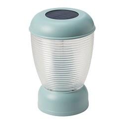 SOLVINDEN - 太陽能LED座檯燈, 藍色 | IKEA 香港及澳門 - PE794618_S3