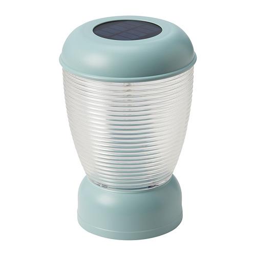 SOLVINDEN - 太陽能LED座檯燈, 藍色 | IKEA 香港及澳門 - PE794618_S4