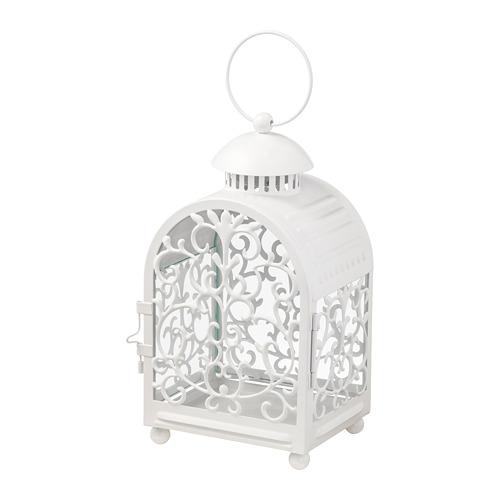 GOTTGÖRA - 金屬蠟燭燈座, 室內/戶外用 白色 | IKEA 香港及澳門 - PE699592_S4