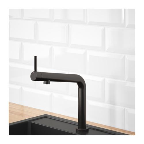 BOSJÖN - 冷熱水龍頭, 刷面金屬黑色 | IKEA 香港及澳門 - PE652761_S4