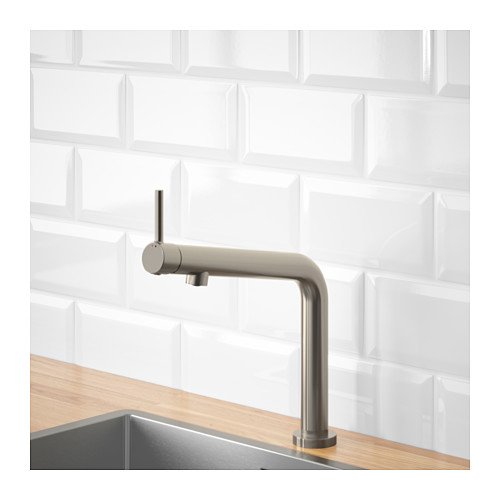 BOSJÖN - kitchen mixer tap, stainless steel colour   IKEA Hong Kong and Macau - PE652763_S4
