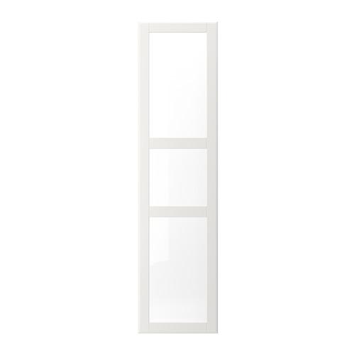 TYSSEDAL - door, white/glass | IKEA Hong Kong and Macau - PE699658_S4
