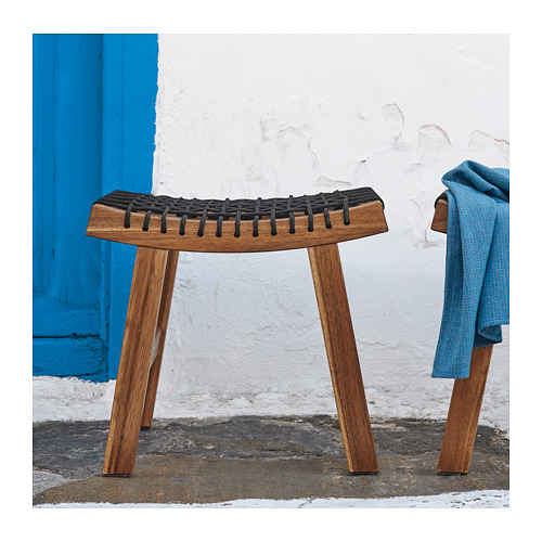STACKHOLMEN - stool, outdoor, light brown stained | IKEA Hong Kong and Macau - PH157588_S4