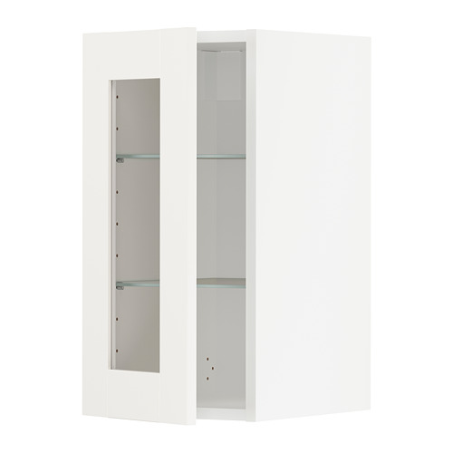 METOD - wall cabinet w shelves/glass door, white/Sävedal white | IKEA Hong Kong and Macau - PE741918_S4